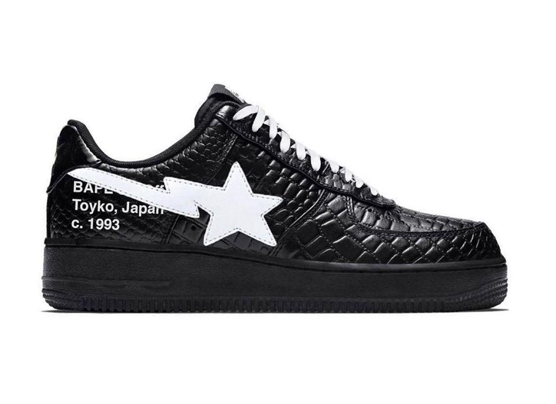 off white bapesta | Sneakers men