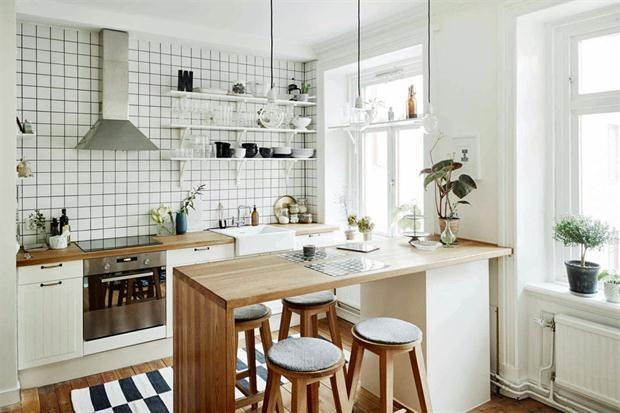 8 ideas para una barra en la cocina cocinas pinterest On cocina americana deco idea