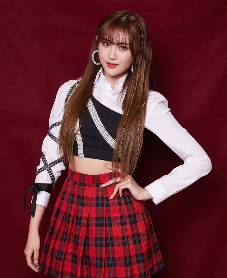 Pin By S On Everglow Kpop Fashion Kpop Outfits Stage Outfits