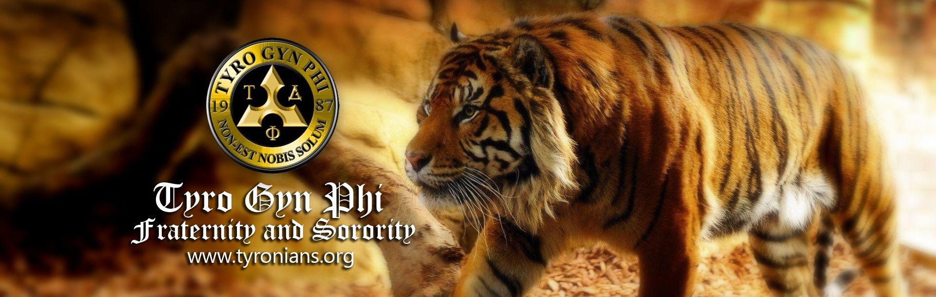 Tyro Gyn phi Fraternity and Sorority Tyro