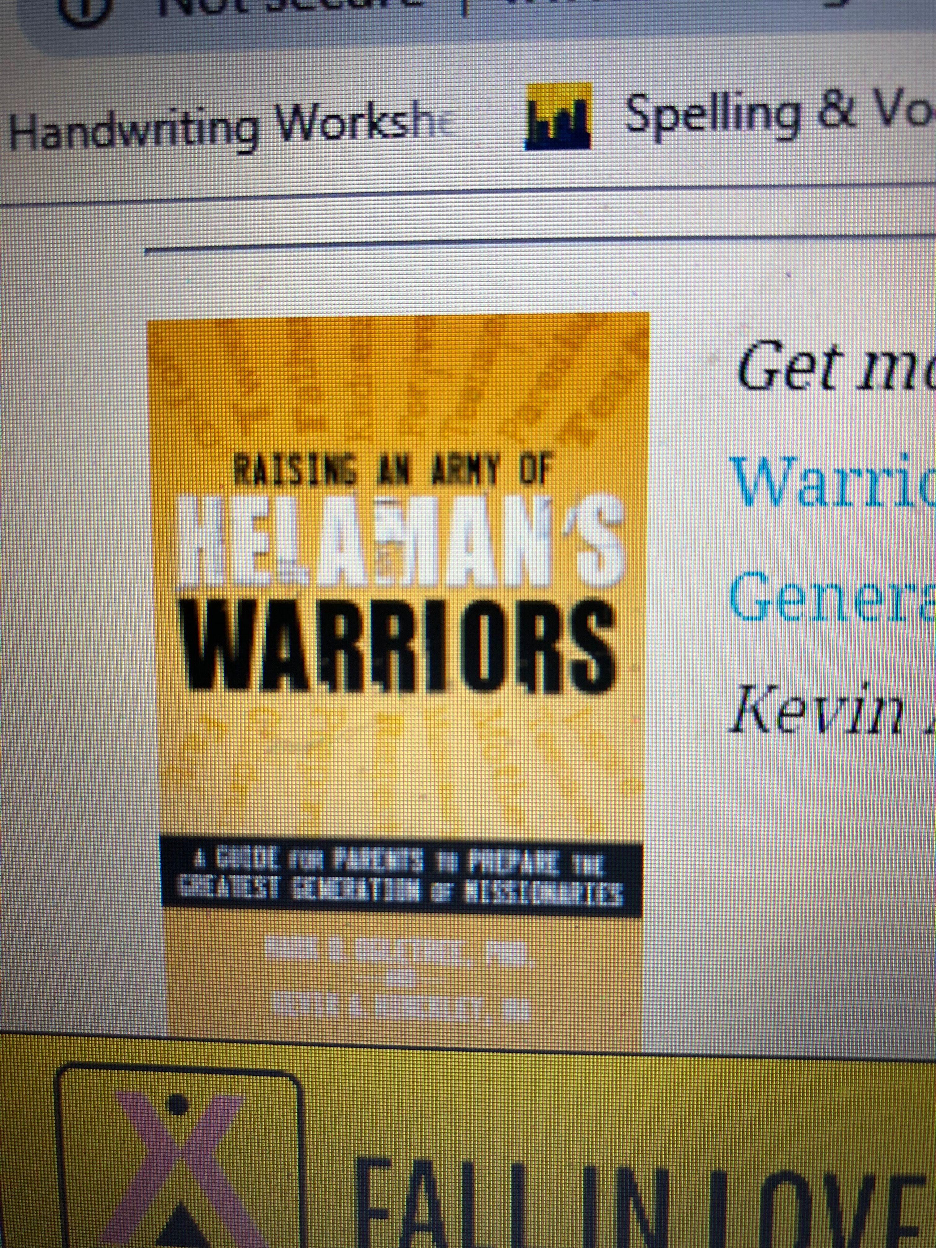 Raising Helamans Warriors