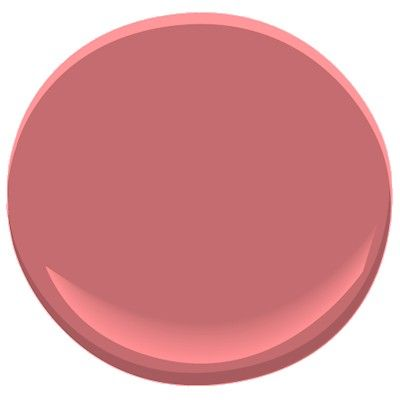 Benjamin Moore Cinco de Mayo - a pretty shade of pink paint. This ...