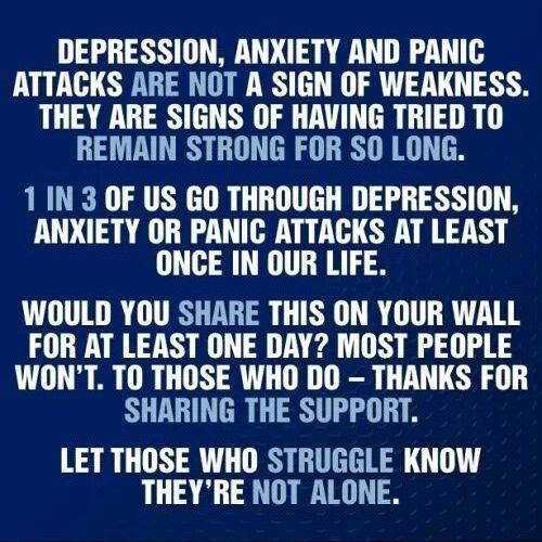 """""""Let those who struggle know they're not alone."""""""