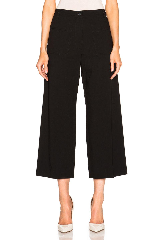 Viscose straight-leg trousers Maison Martin Margiela 5867VI5G