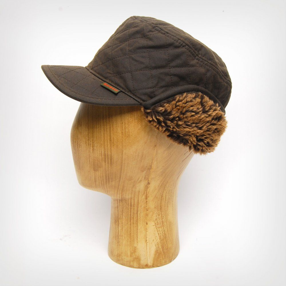 9ea880a612e Barbour Stanhope Waxed Hunting Cap