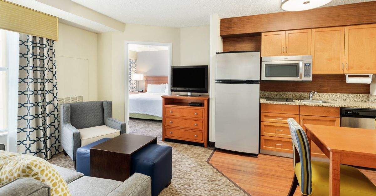 Homewood Suites by Hilton Suite with Hardwood Floors and