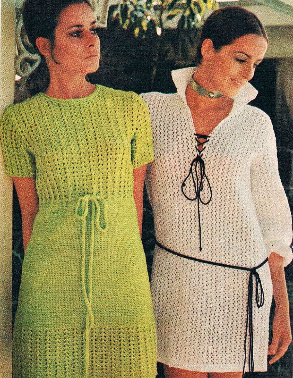 70's Spring Crochet Collection by Villawool by SparrowFinds