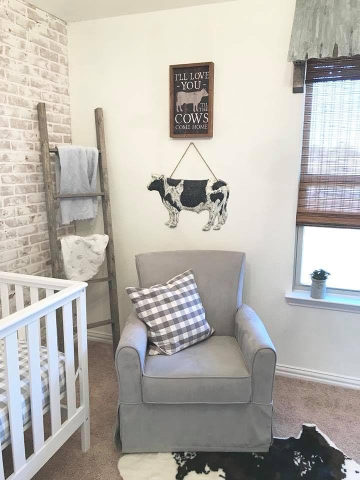 Decorating Ideas For Baby Boys Room: Cow Nursery, Baby Nursery Themes, Baby