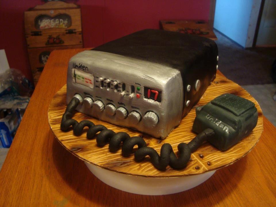 Cb Hand Radio Cake Birthday Cake Cute Cakes In 2018 Pinterest