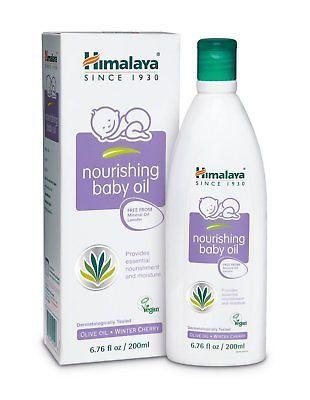 Himalaya Nourishing Baby Oil Lanolin Free Amp Mineral Oil Free 6 76oz Pack Of 2 Baby Oil Lanolin Oils