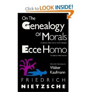 On the genealogy of morals and ecce homo friedrich nietzsche on the genealogy of morals and ecce homo friedrich nietzsche walter kaufmann 9780679724629 fandeluxe Choice Image