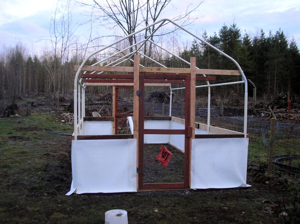 JERRY'S CARPORT TUBE FRAME GREENHOUSE (With images