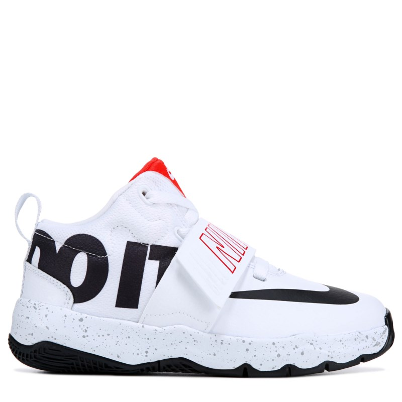 6575fa48548 Nike Kids  Team Hustle 8 Just Do It Basketball Shoe Toddler Shoes (Just Do  It)