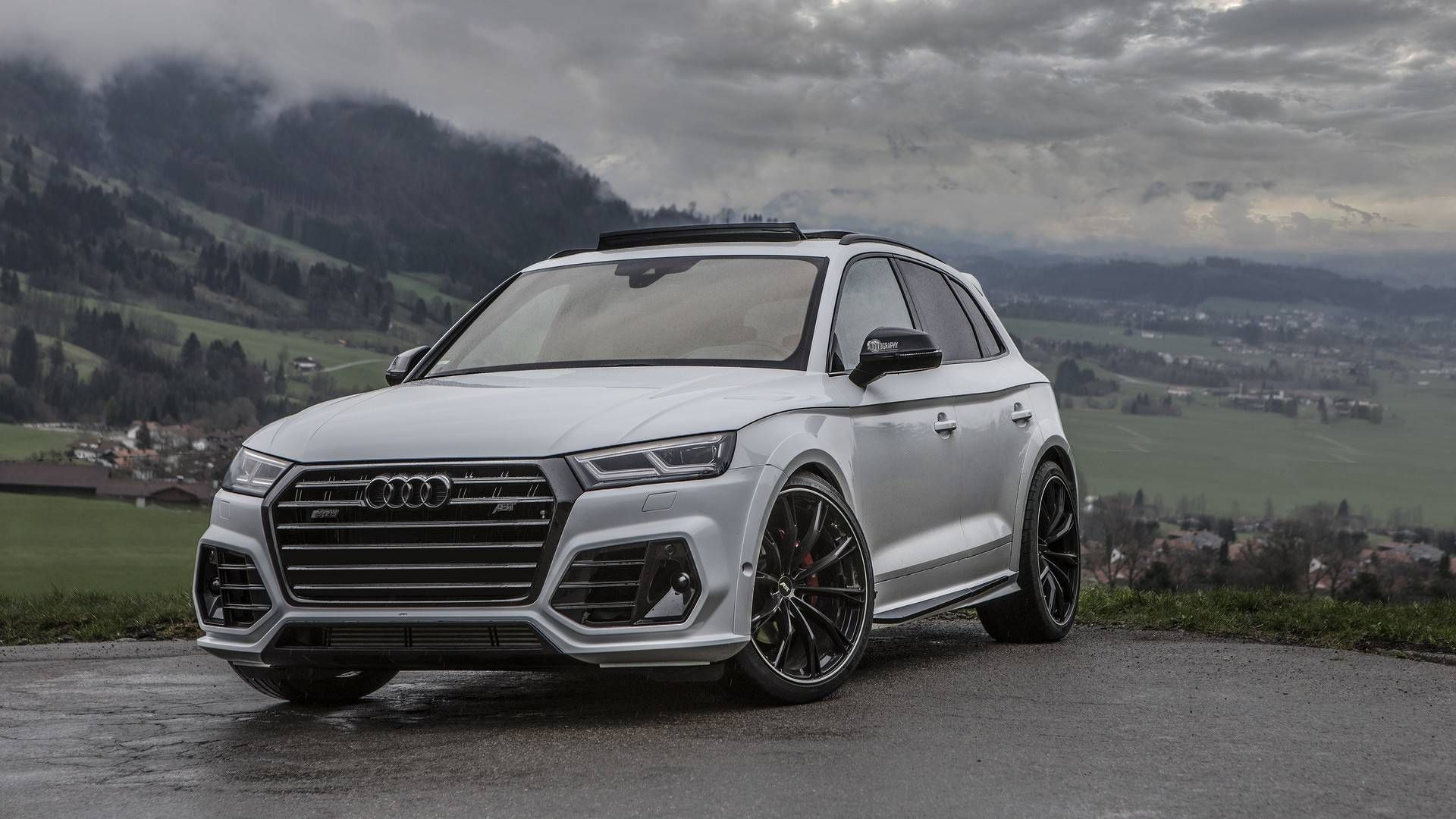 Audi Sq5 Upgraded By Abt Takes Scenic Route For Photo Shoot Audi Sq5 Scenic Routes
