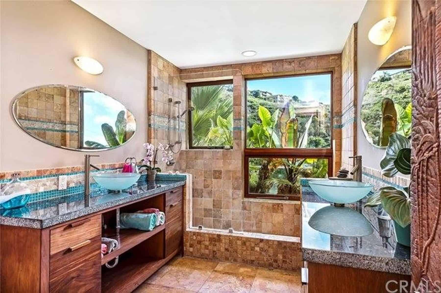 Photo of 45 Tropical-Style Master Bathroom Ideas (Photos)