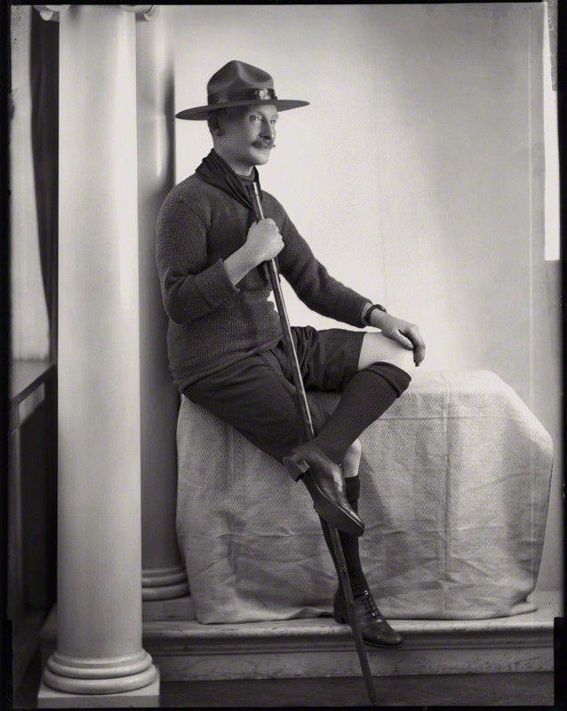 Robert Stephenson Smyth Baden Powell 1st Baron Baden Powell
