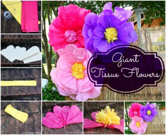 Giant tissue paper flowers video instructions tissue flowers giant tissue paper flowers video instructions the whoot mightylinksfo