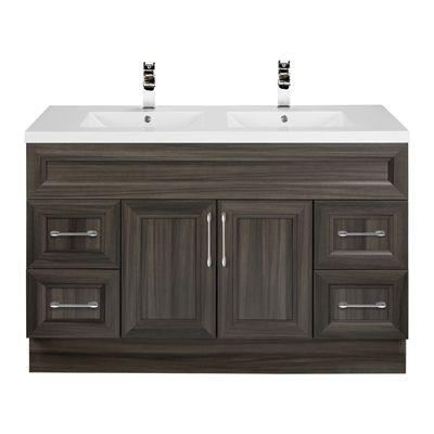 Cutler Kitchen & Bath COT Cottage 48-in Bevel Shaker Double Vanity w/Top