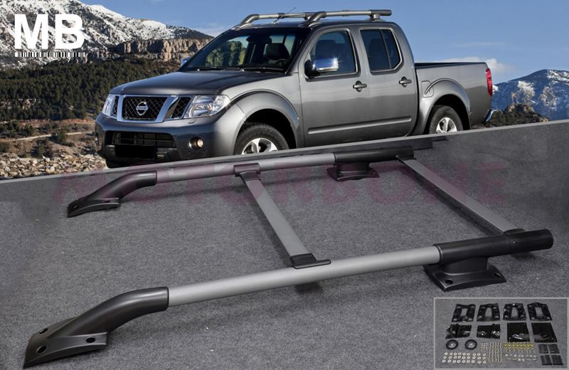 nissan frontier pick up truck roof rack rail cross bar 05. Black Bedroom Furniture Sets. Home Design Ideas