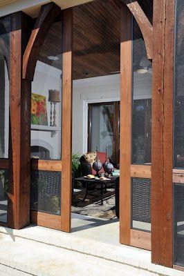 April 2012 Sliding Screen Doors Patio Outdoor Rooms