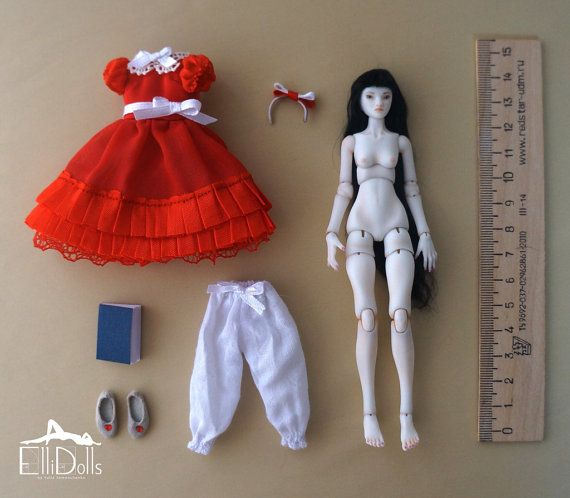 21 Mobile Articulated Dolls 28cm BJD Fashion Hair Dolls DIY for Girls Gift