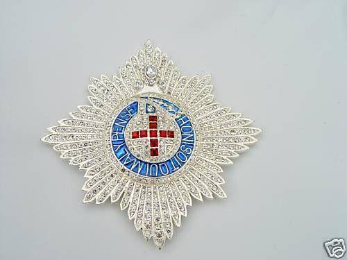 Order Of The Garter King George Iii Diamond Star King George Iii King George Order Of The Garter
