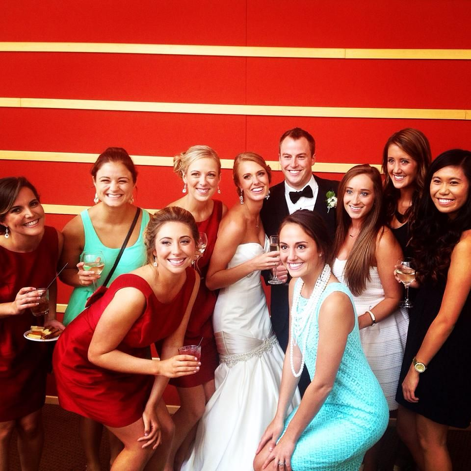 The beautiful bride & all of her KD ladies<3 #kappadelta #new2osu #goKD