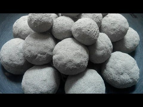 ASMR very soft dusty SAND CEMENT balls dry crumble