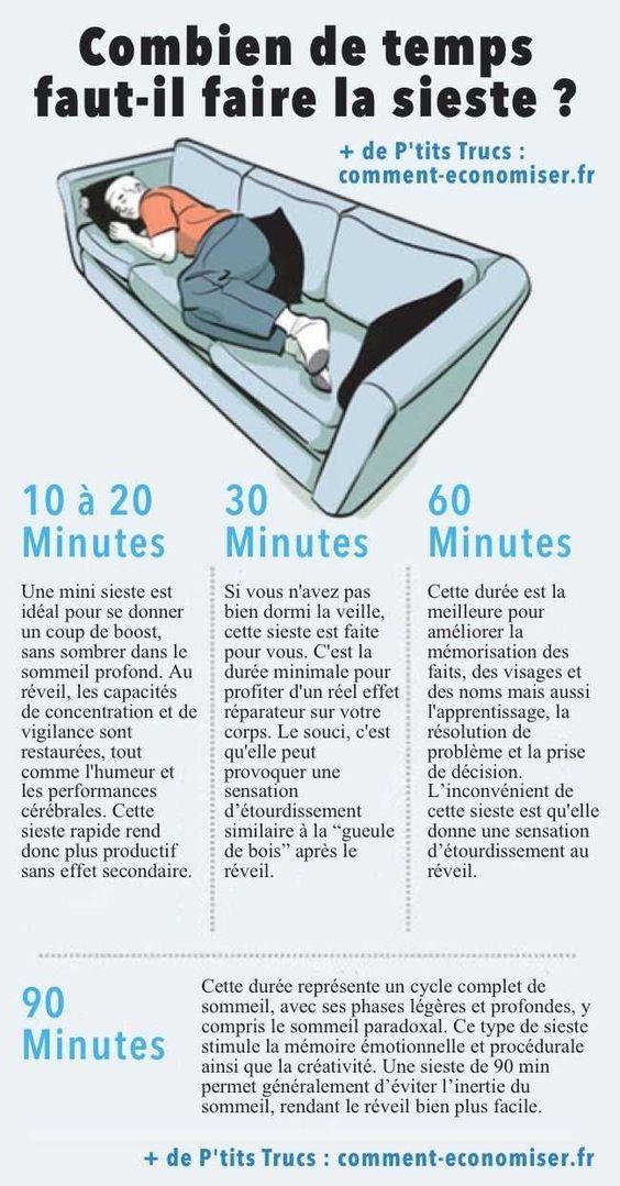 Combien de temps doit durer une sieste pour qu 39 elle soit vraiment efficace health - Combien de temps construction maison ...