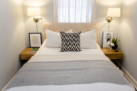 Kleines Schlafzimmer Symmetrisch Einrichten