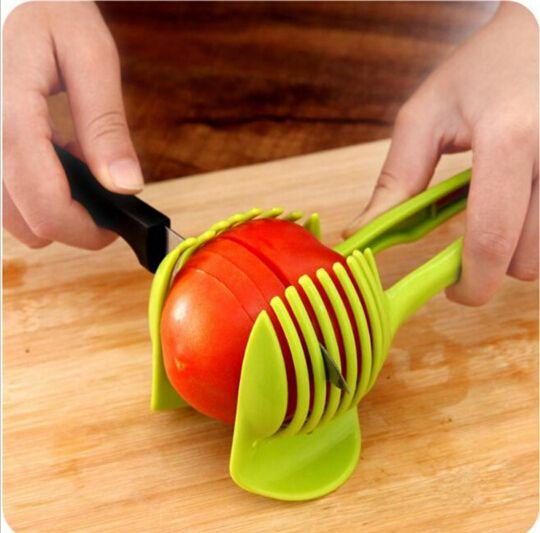 Handheld Creative Kitchen Fruit And Vegetable Slicer Orange Lemon Cutter  Cake Clip Multi Function Kitchen