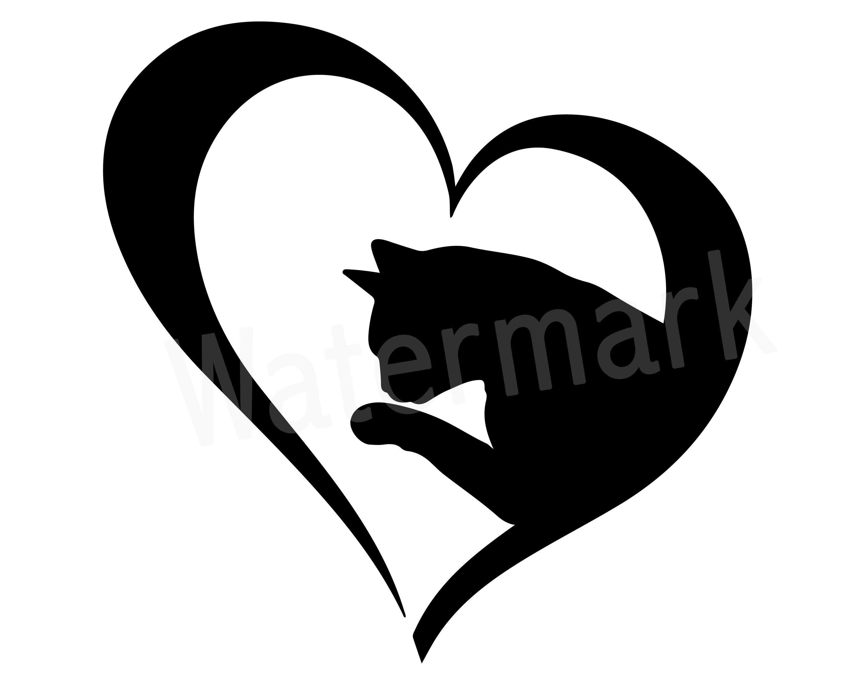 Download Cat Lover SVG Clipart, Love Cats, Cat Mom SVG, Fur Mom ...
