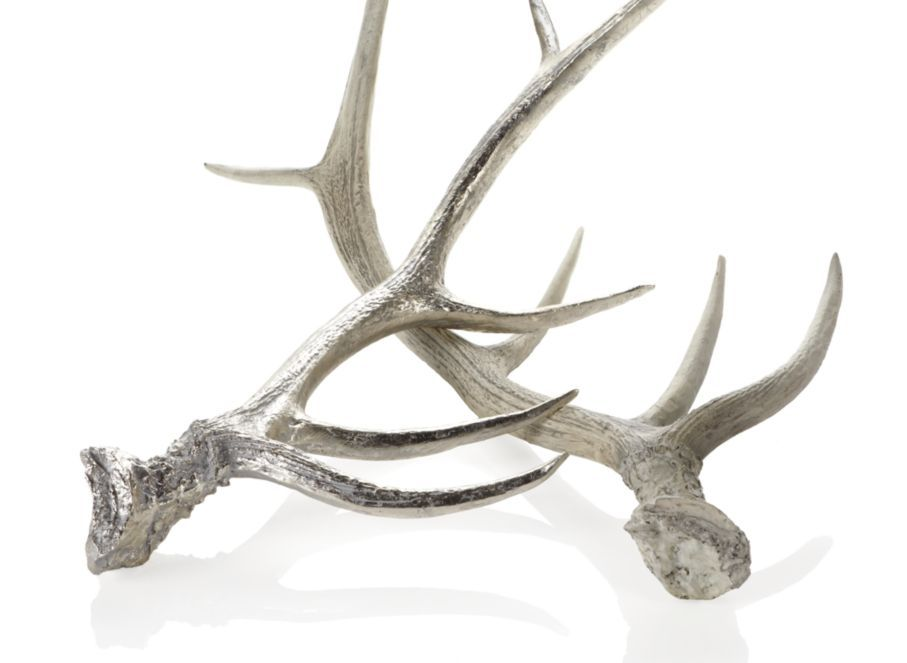 Chris And I Fell In Love With These Silver Deer Antlers At Z Gallerie 40