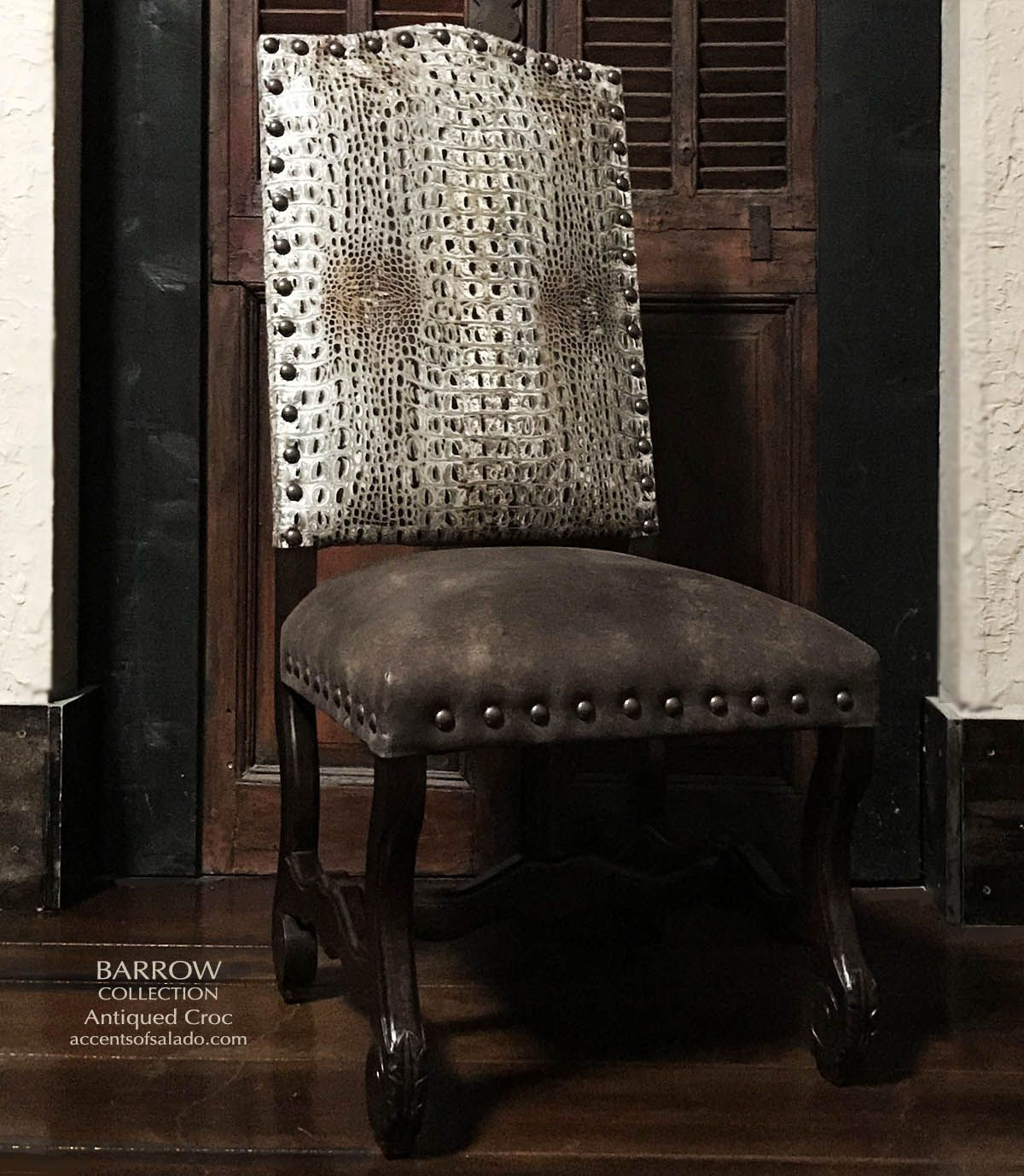 Crocodile Dining Chair Leather Dining Room Chairs Dining Chairs Leather Dining Chairs