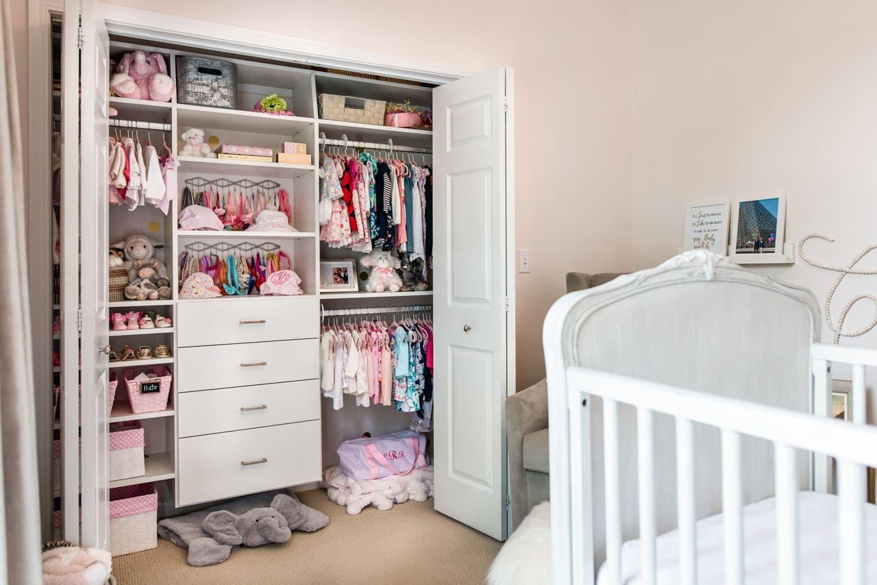 Kids ReachIn Closet Kids Closet Organization Inspired