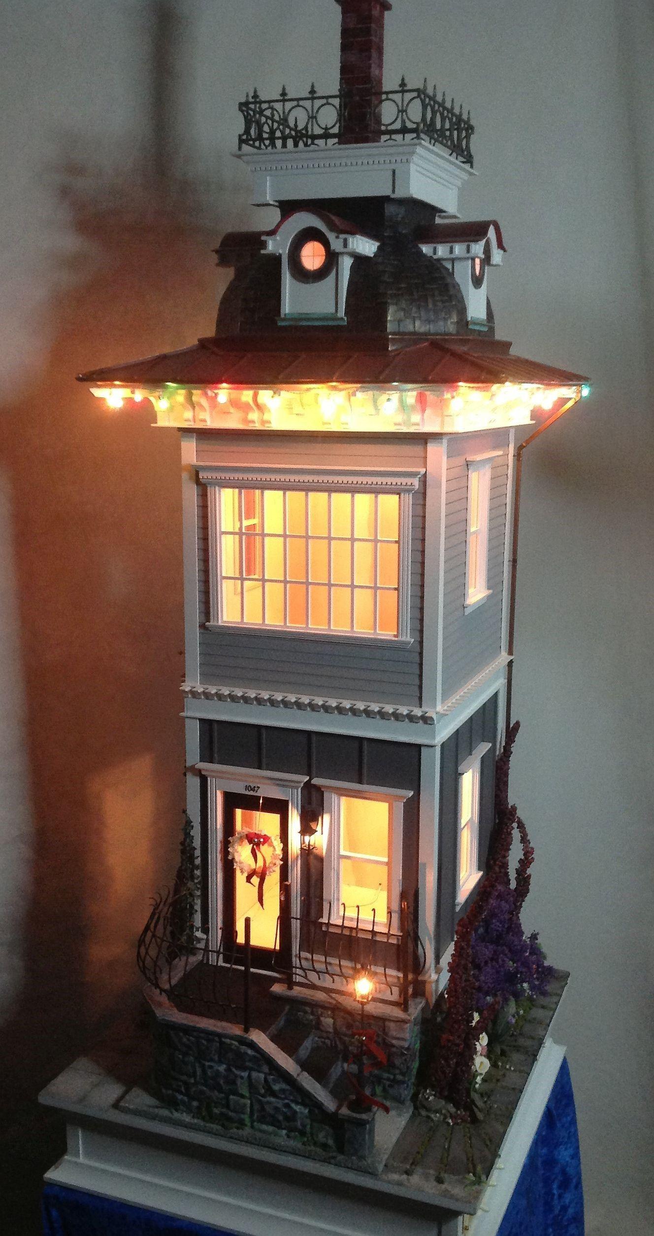 "Miniature 1:12 Dollhouse Base Table Lamp ""Eloise"" by ..."
