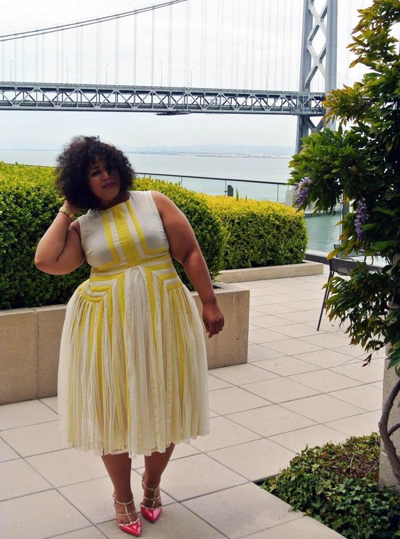 ASOS Curve Dress, San Francisco Style | Yaaaaas Honey in ...