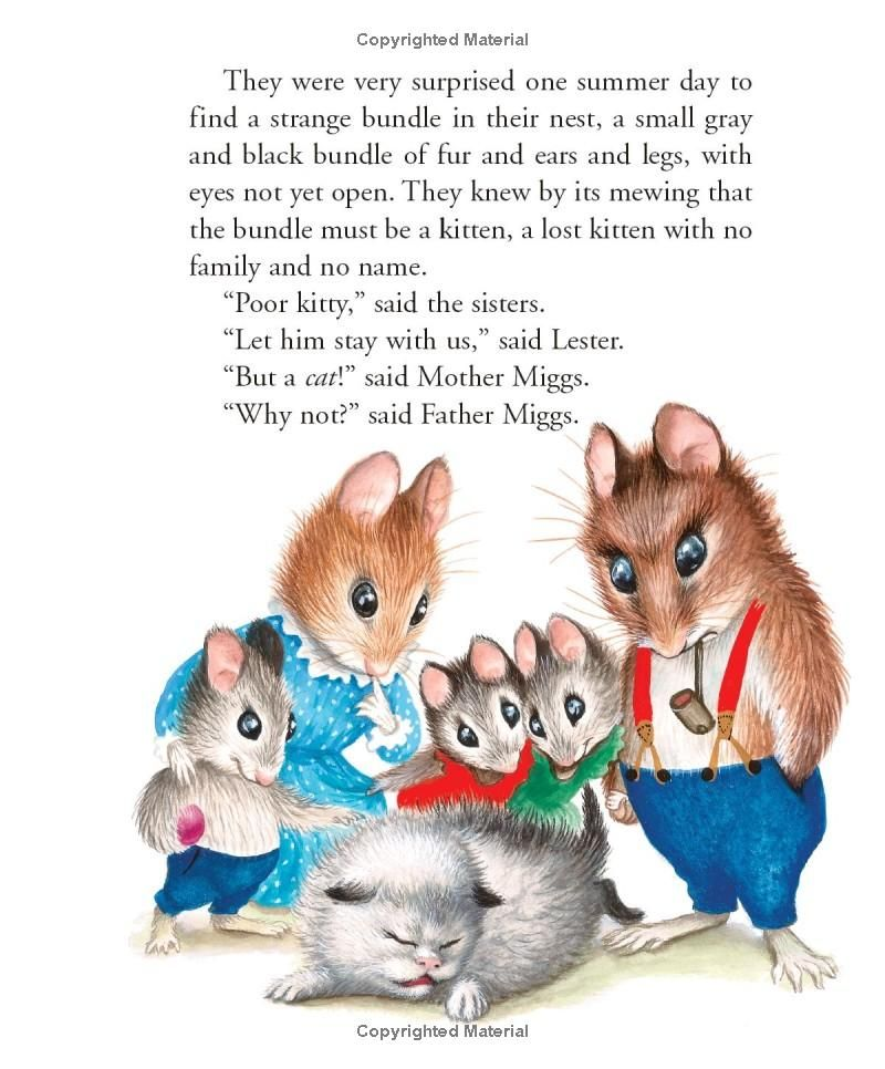 """The Kitten Who Thought He Was a Mouse"" by Miriam Norton, Garth Williams"
