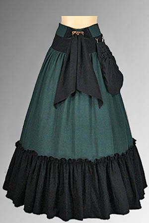 Medieval Style Skirt renaissance medieval clothing