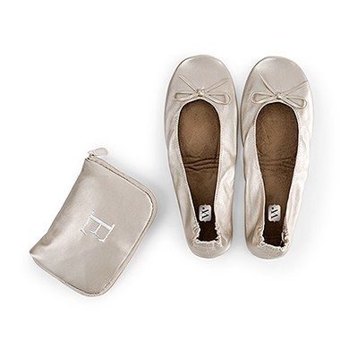 ballet flats, Foldable flats, Wedding shoes