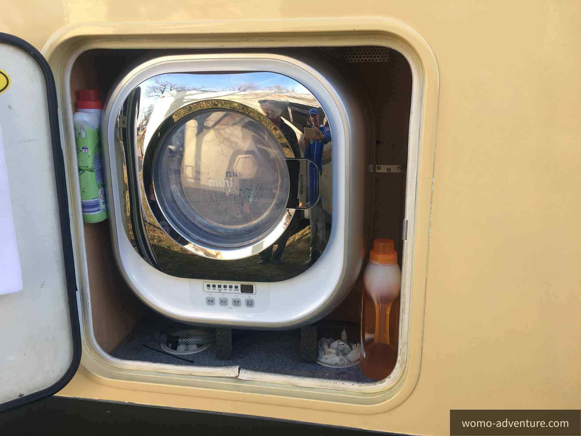 Projekt Waschmaschine ins Wohnmobil einbauen  Womo-Adventure