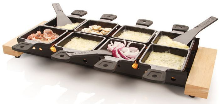 Boska Raclette Partyclette Life Xl Kase Gerichte Lecker Fleischwaren