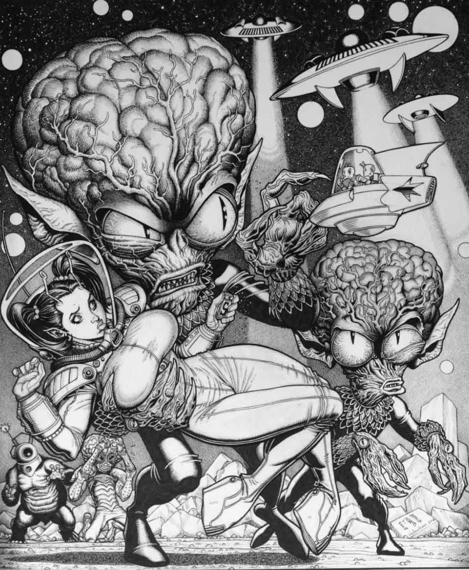 pin by bewel brummett on monsters arts pinterest sci fi artist