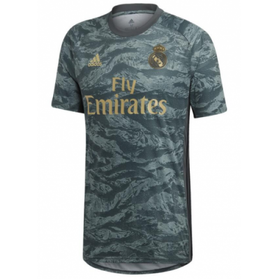 Cheapsoccerkits Com 19 20 Real Madrid Grey Goalkeeper Cheap Soccer Jersey Shirt Wholesale Soccer Jersey Jersey Shirt Real Madrid Shirt