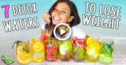 7 DETOX WATERS FOR WEIGHT LOSS!Rawvana #fitness