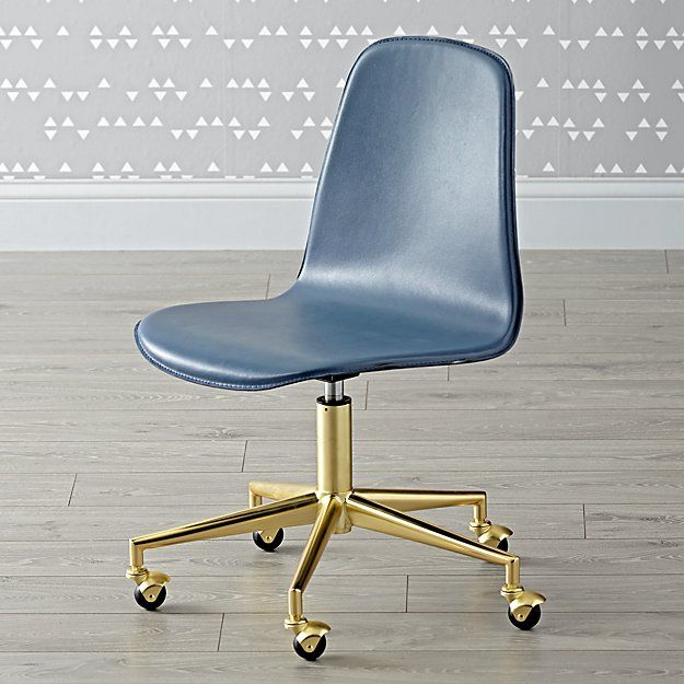 Blue Velvet Armless Office Desk Chair Gold Frame Casters Desk Chair Wood Chair Most Comfortable Office Chair