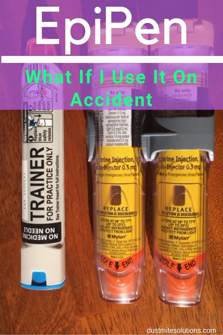 What Happens If You Use An Epipen Without Needing It ...