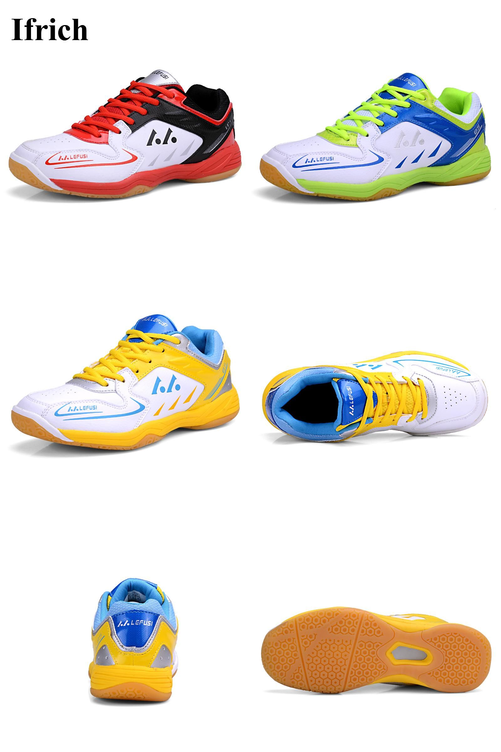 Visit To Buy Big Size 45 Badminton Shoes For Men Women Badminton Sneakers Red Greeen Couples Badminton Snea Sport Shoes Men Badminton Shoes Green Court Shoes