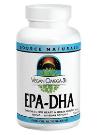 Vegan Omega 3s Epa Dha 350 Mg 60 Softgels By Source Naturals At The Vitamin Shoppe Fish Oils Supplements Fish Oil Brain Nutrition
