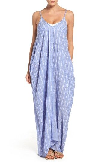 2794556ddb Free shipping and returns on Elan Cover-Up Maxi Dress at Nordstrom.com. Get  an effortless look in this billowy maxi dress topped with thin spaghetti  straps ...